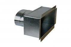 Адаптер металлический для решеток