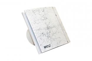 Вытяжные бытовые вентиляторы серии SILENT CZ MARBLE WHITE DESIGN